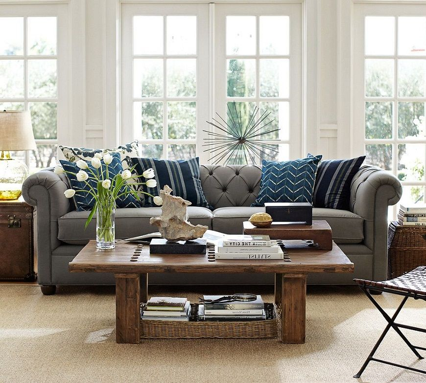 Pottery Barn Living Room Design Ideas | Bedroom | Pinterest | Barn ...
