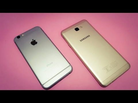 Samsung J7 Prime Vs IPhone 6 Mega Comparison