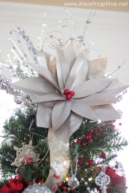 1000+ images about Christmas Tree Topper Ideas on Pinterest