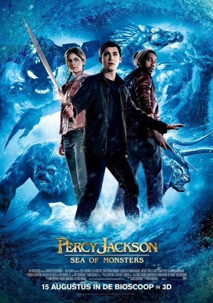 Gebaseerd op Percy Jackson: de zee van monsters van Rick Riordan