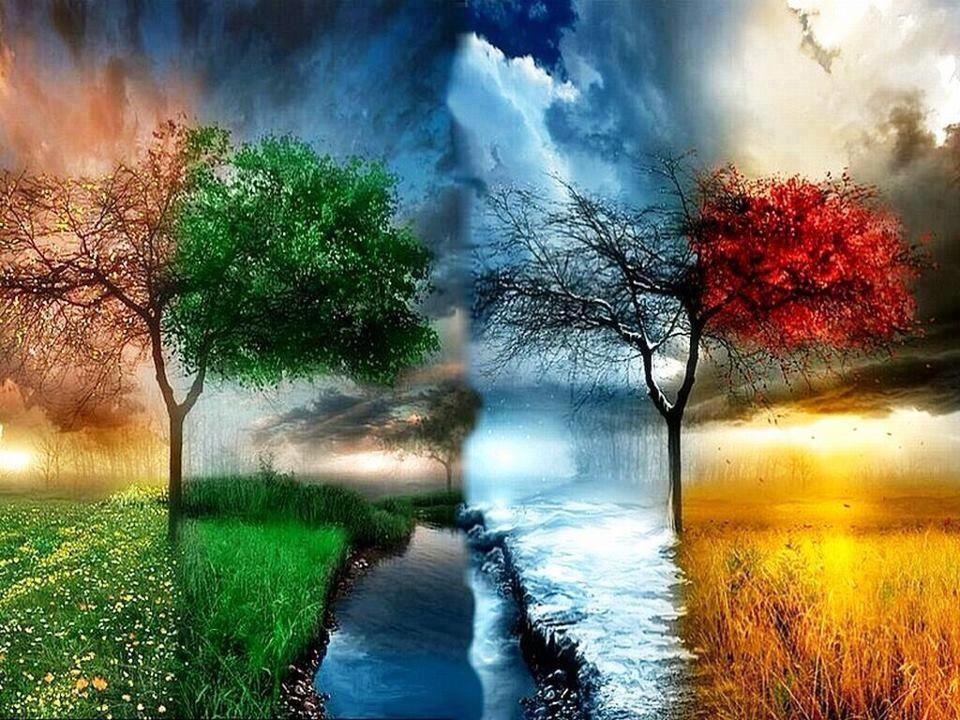 Jahreszeiten Malen Nach Zahlen Bemalte Kreuze Idee Farbe