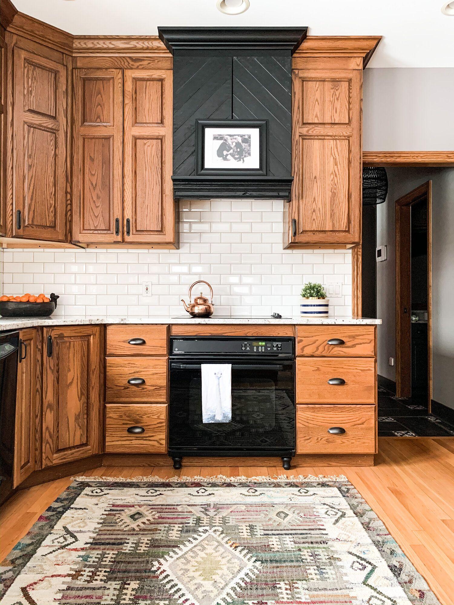 How to make an oak kitchen cool again :) — COPPER CORNERS