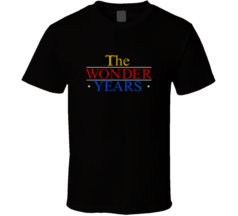 File:The Wonder Years logo.svg - Wikipedia |The Wonder Years Logo
