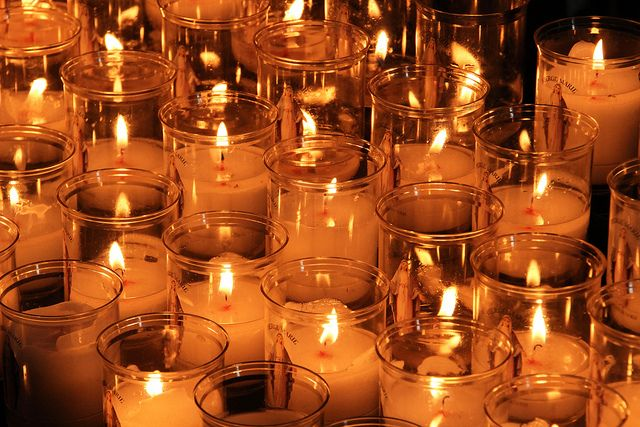 Cathedral Candles | Episcopal Church | Candles, Church
