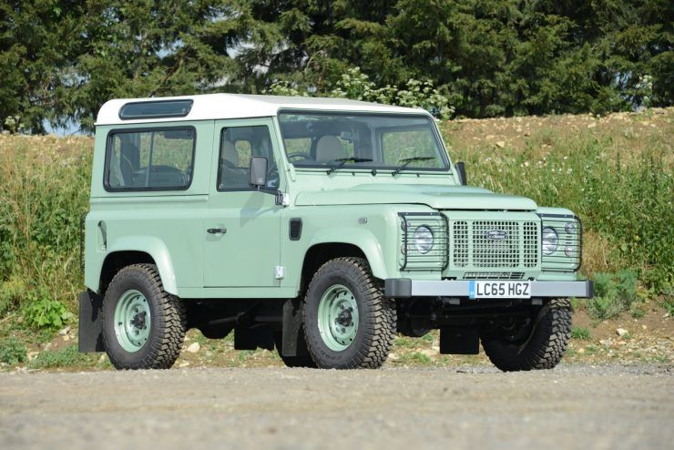 A Brief History Of The Land Rover Defender Land Rover Defender