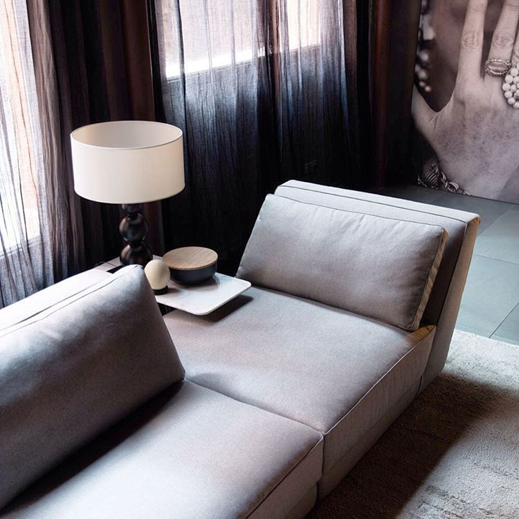 Dion photoshooting blackcollection by albertafurniture