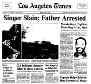 Marvin Gaye killed by father 30 years ago today [Talkback] - latimes