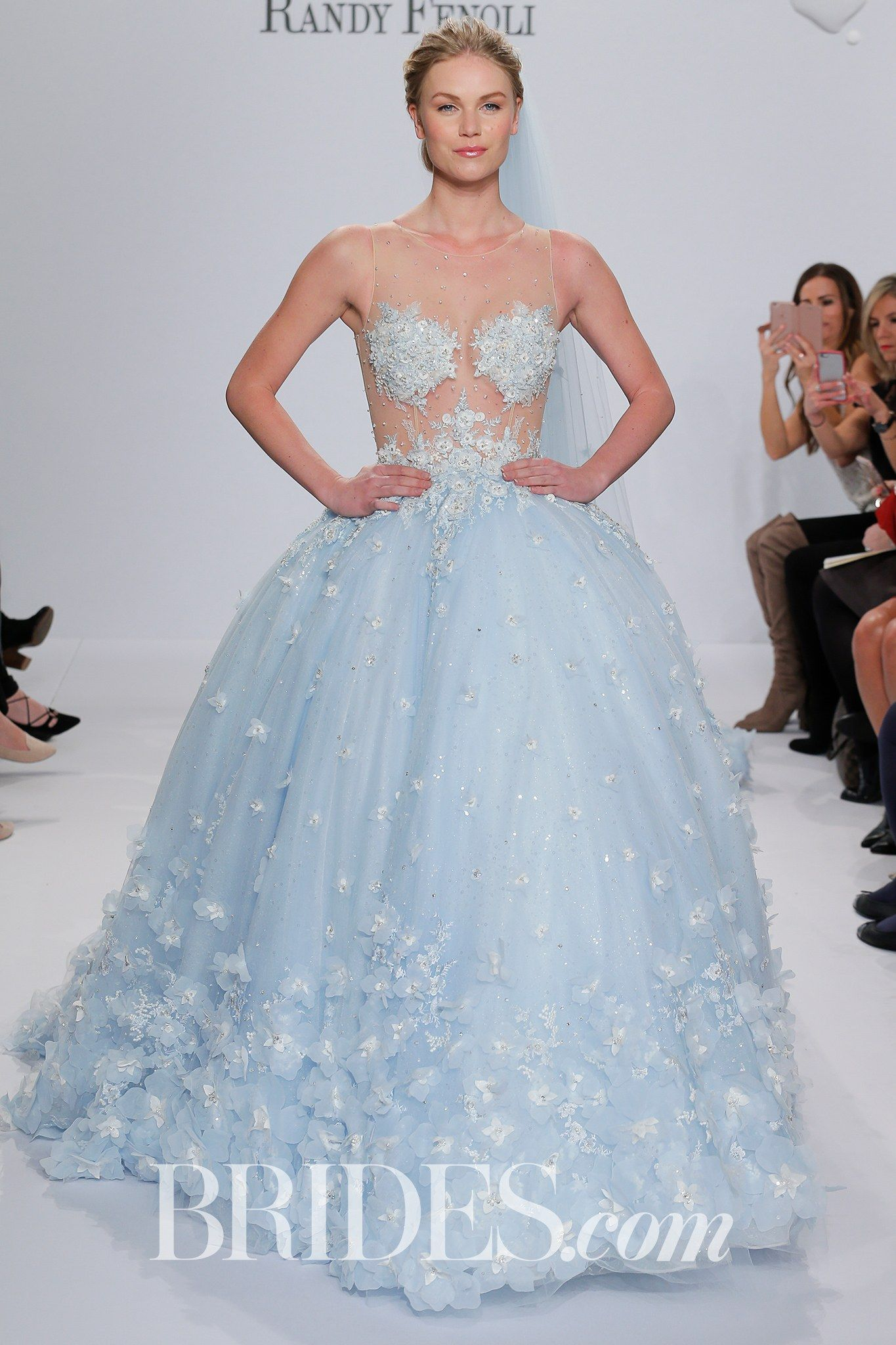 New Randy Fenoli for Kleinfeld Bridal u Wedding Dress Collection Spring Brides Brandi pastel