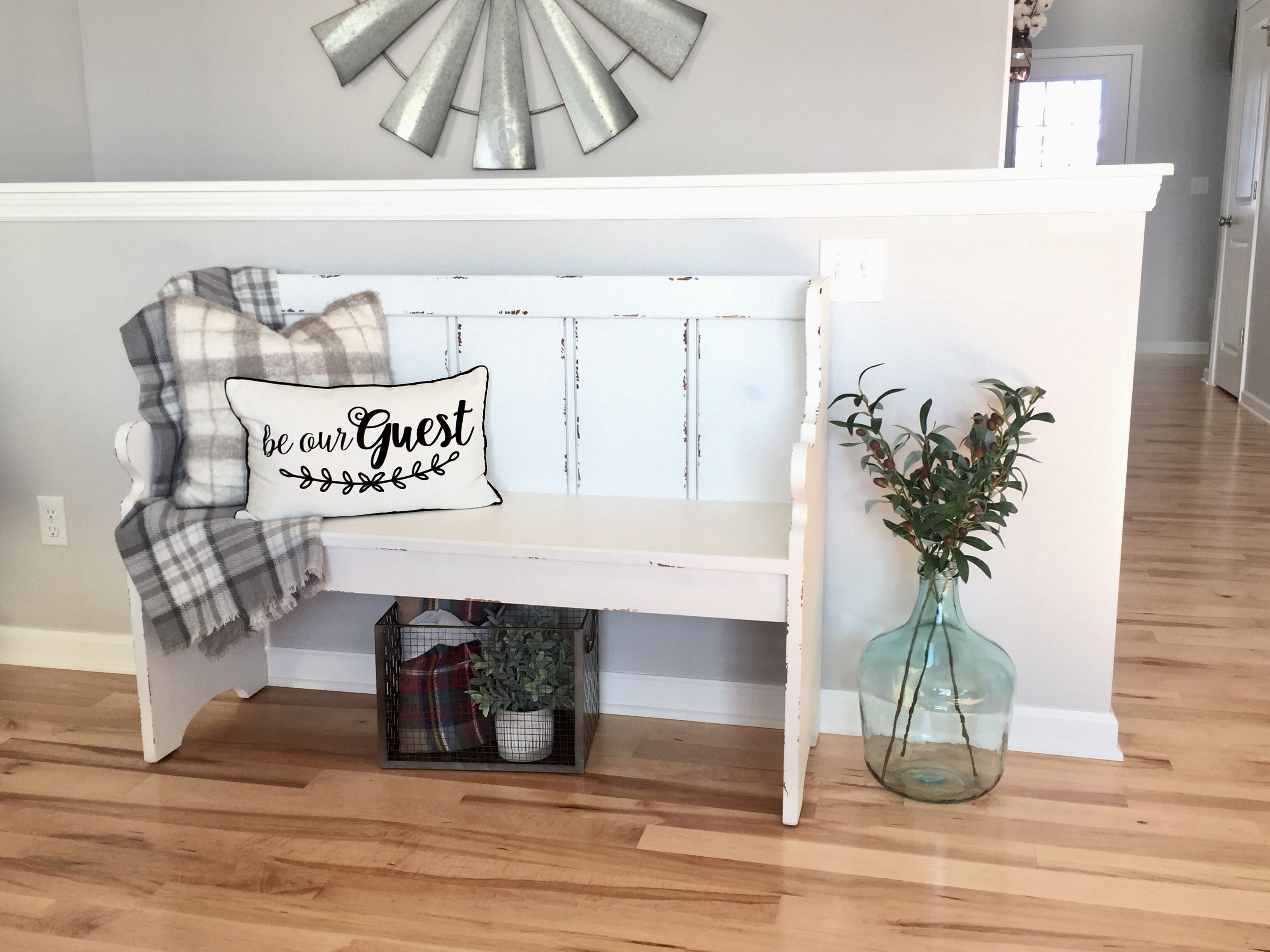 Fine Pew Kirklands Farmhouse Bench In 2019 Bench Decor Benches Ncnpc Chair Design For Home Ncnpcorg