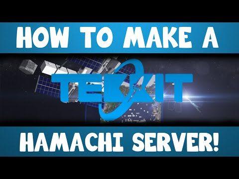 How To Make A Minecraft Tekkit Hamachi Server Http - Minecraft tekkit server erstellen hamachi