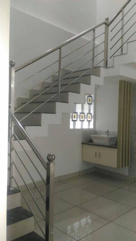 Staircase Handrail Work Building Design 3d Ssconstruction