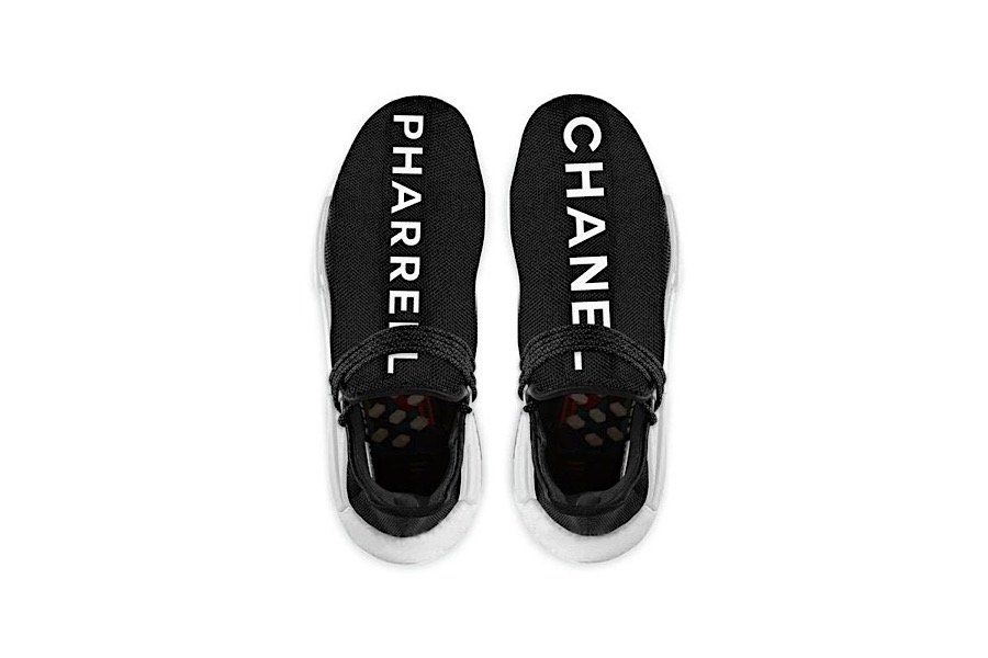8a7af32026f Pharrell Williams x adidas NMD Human Race x Chanel: Fake or not ...