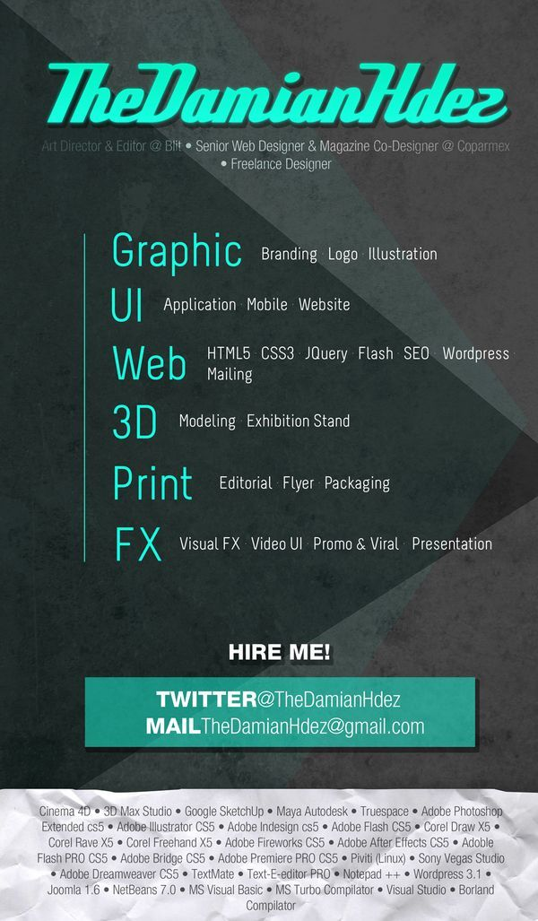 Simple Graphic Designer Resume (resumecompanion) Creative - freelance designer resume