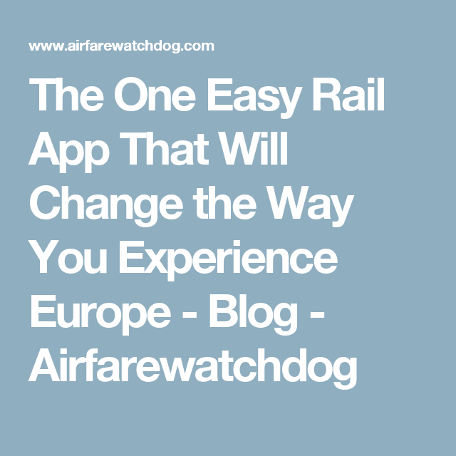 The One Easy Rail App That Will Change the Way You