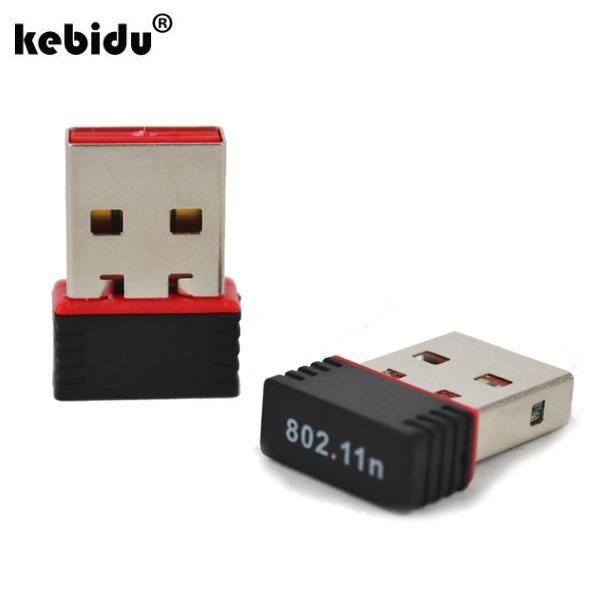 Kebidu2017 Mini 150 Adapter Usb Wifi 150mbps Wireless Adapter Karta