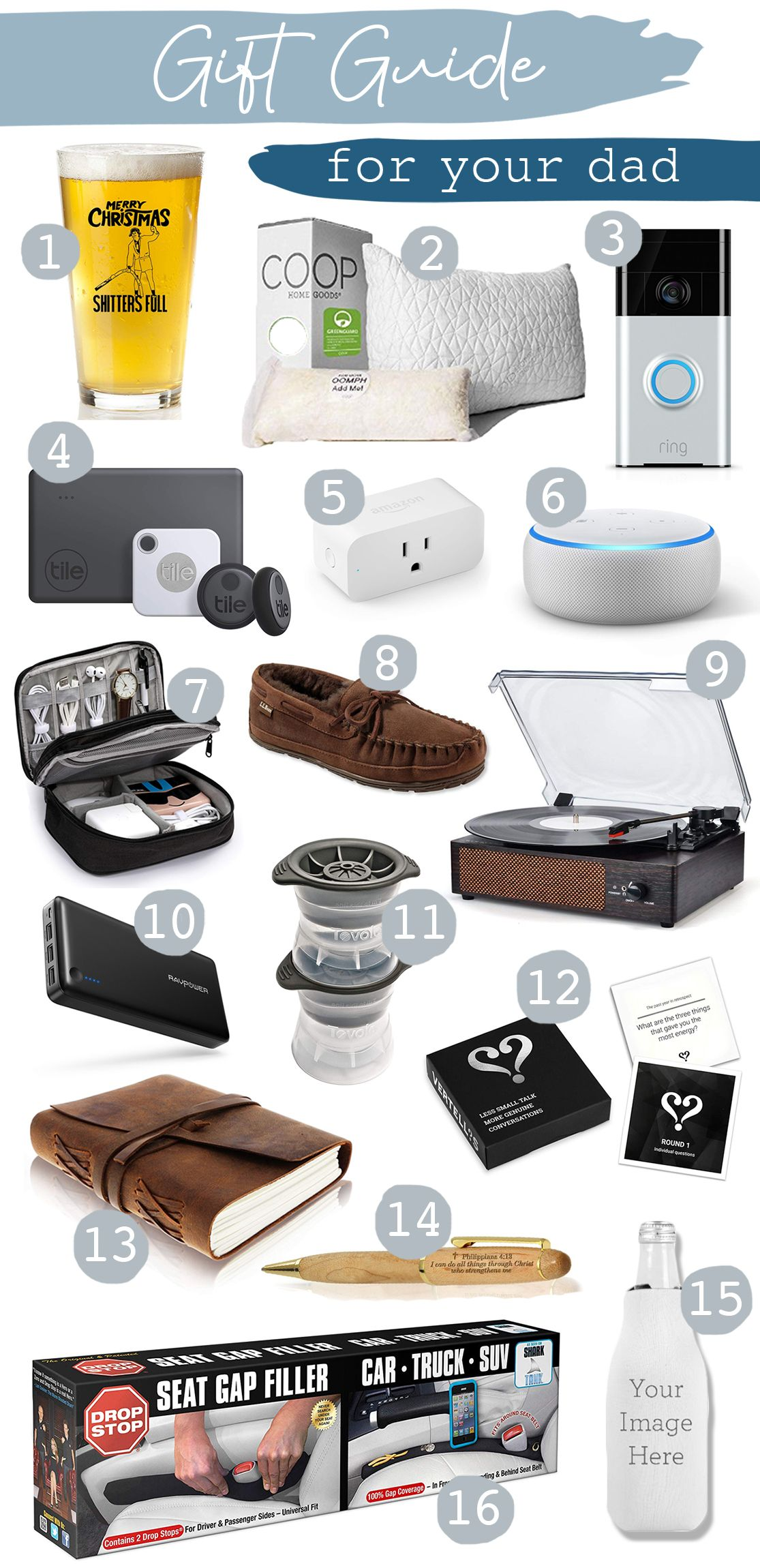 Gift Guide For Your Dad Great Lakes Locals In Law Christmas Gifts Gift Guide Gifts For Techies