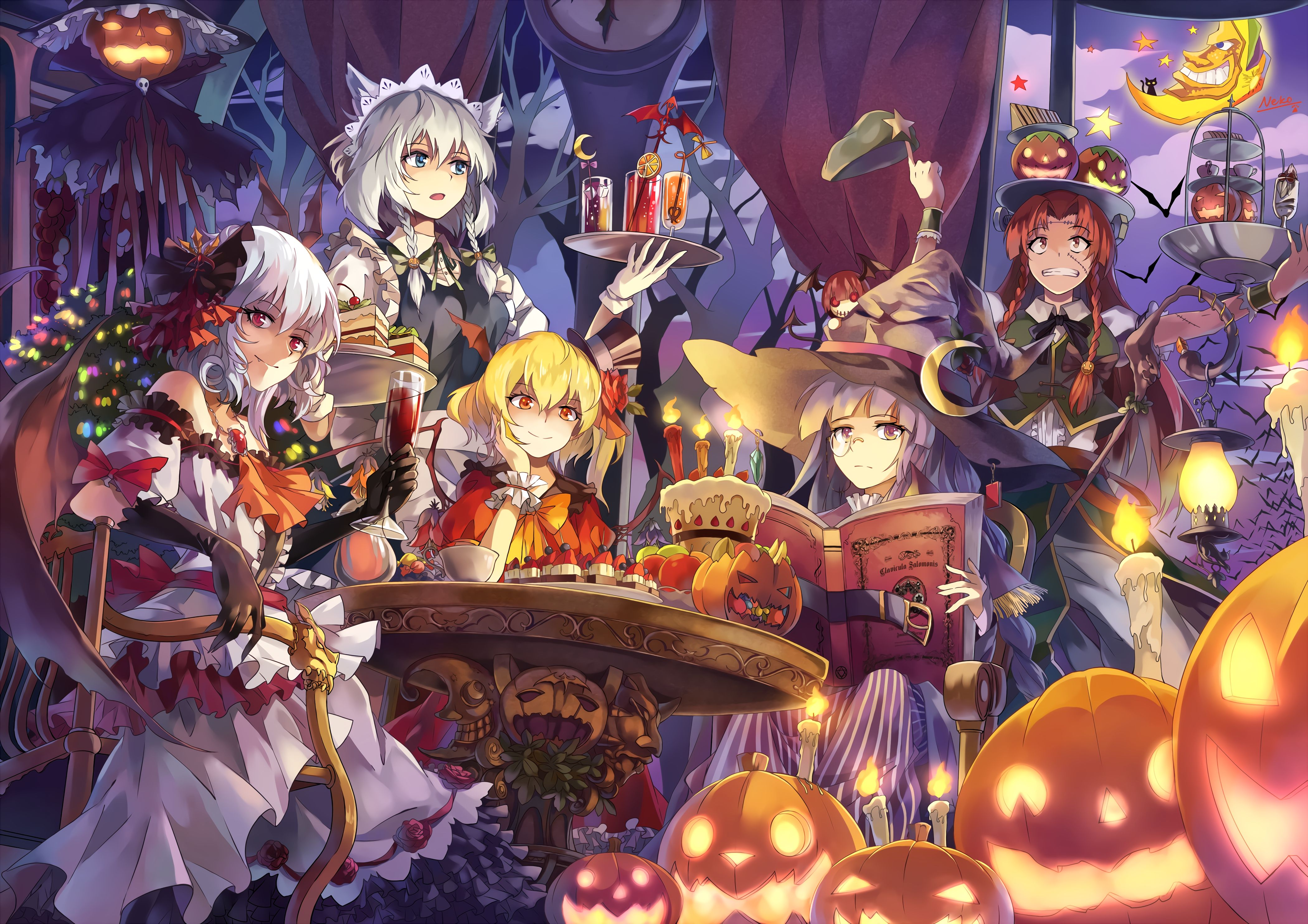 Red S Hall Halloween 4200x2968 Hd Wallpaper From Gallsource Com Anime Halloween Anime Wallpaper Anime Halloween anime wallpaper hd