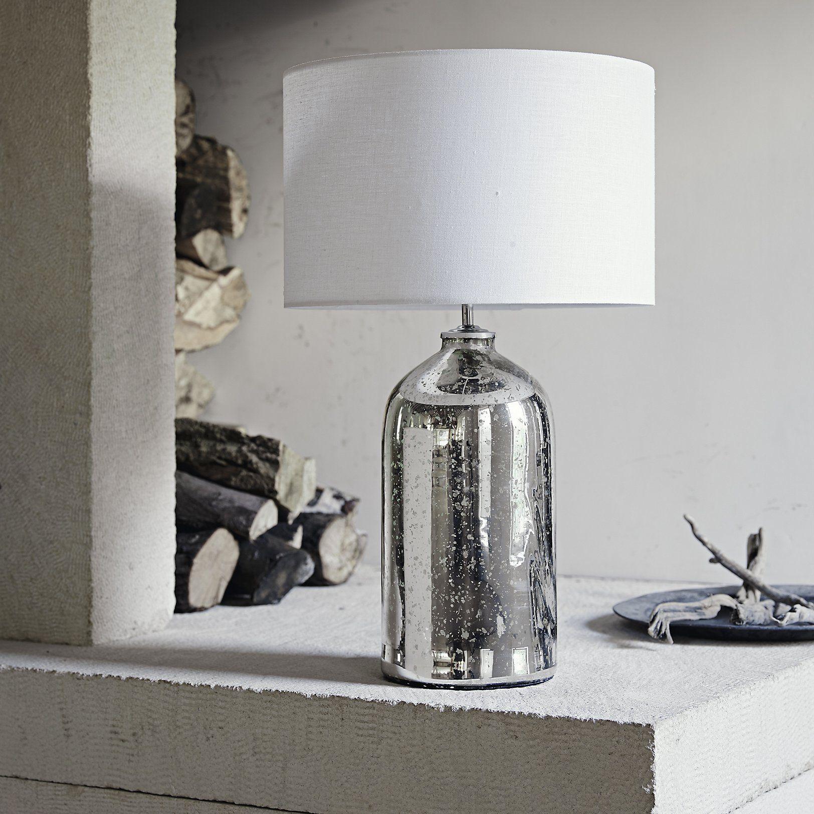 Mercury Large Bottle Table Lamp Table Lamps The White Company Bottle Table Lamps Table Lamp Lamp