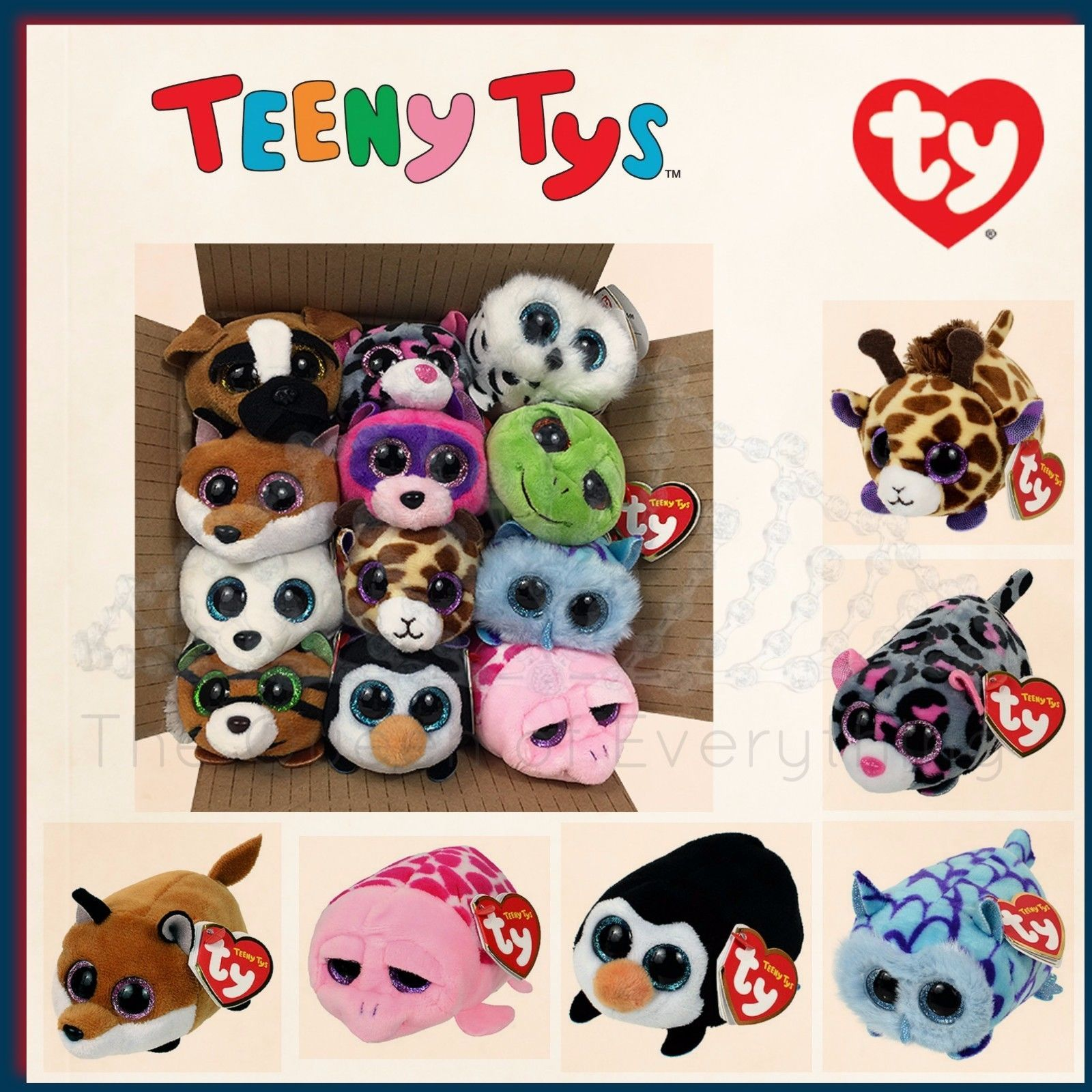 """TY Teeny Tys 3"""" Stackable Screen Cleaner Plush New Release 2016 USA Seller in Home & Garden, Kids & Teens at Home, Other Kids' & Teens' Items 