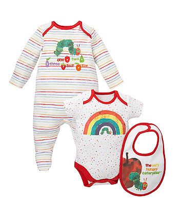 The Very Hungry Caterpillar Three Piece Set - gift sets - Mothercare