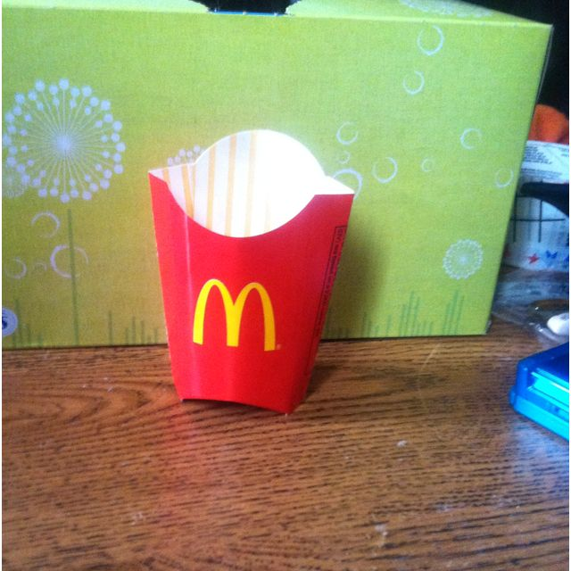 The New Mini Fry Boxes For Happy Meals From Mcdonald S Cute