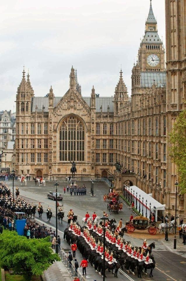 Palácio de Westminster, em Londres