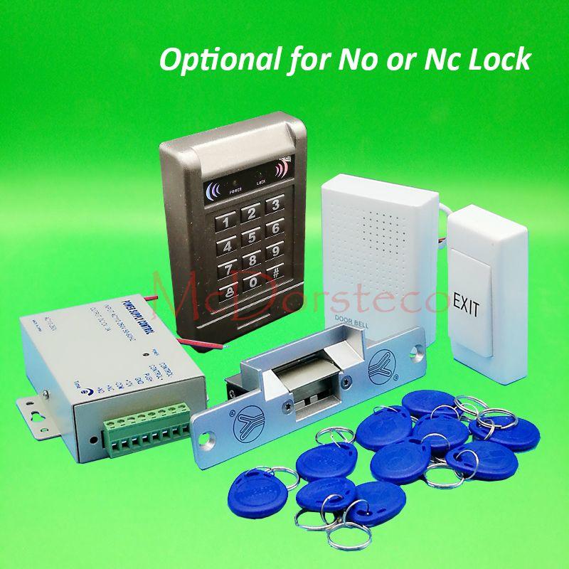 Diy complete 125khz rfid keypad door access control system