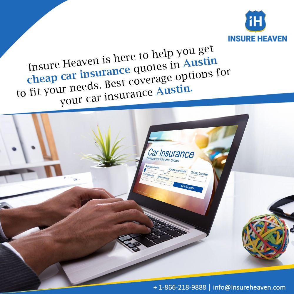 Get the best car insurance quotes austin insure heaven