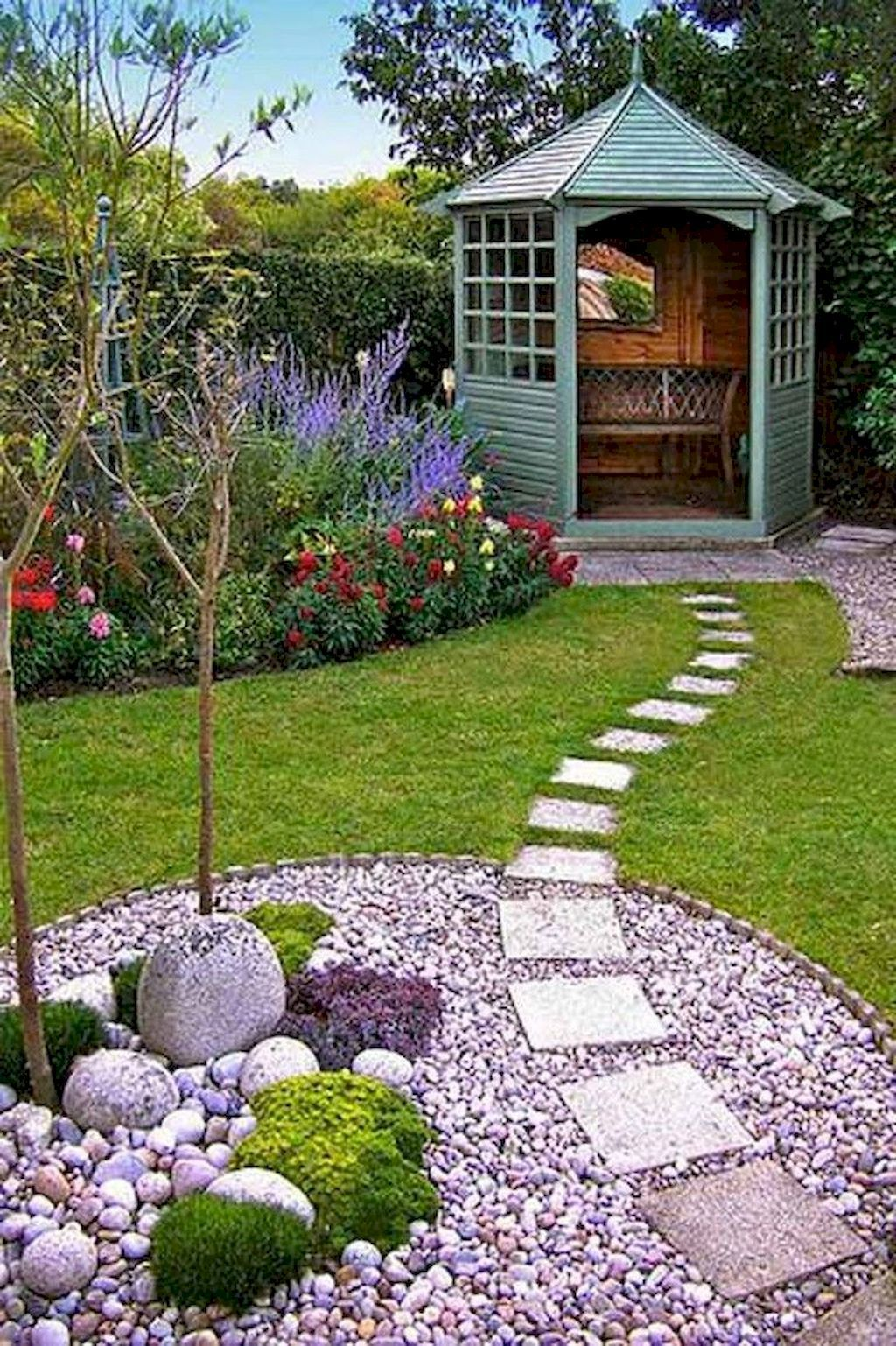 65 Stunning Front Yard Pathways Landscaping Ideas is part of Small backyard landscaping, Diy backyard landscaping, Pathway landscaping, Backyard landscaping designs, Front yard garden, Walkway landscaping - A front yard walkway creates a defined path that provides visual interest and accents your home's entrance  A walkway also prevents worn paths through your yard, helps to keep dirt from being tracked indoors and avoids muddy shoes during rainy… Continue Reading →