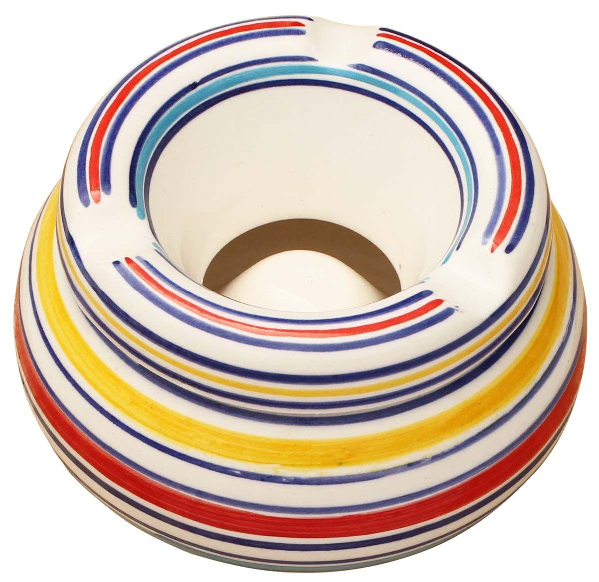 "Handmade Tray Decoration Impressive Circular Patterns  Handmade 46"" Ceramic Moroccan Style Ashtray Decorating Inspiration"