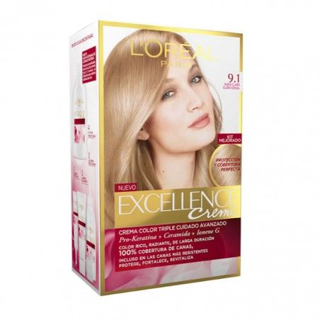 Loreal Excellence Crème 9.1 Natural Light Ash Blonde - €9.74