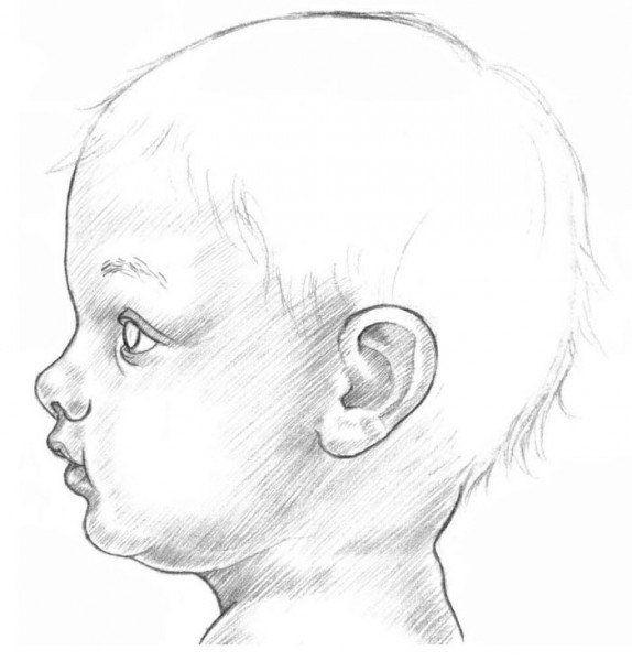 Ein Baby Malen Anleitung Dekoking Com Illustrations Photos In