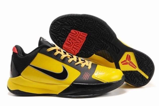 Nike Zoom Kobe 5 Bruce Lee Del Sol Black Varsity Red