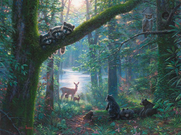 Teresa Clarke Oil Painting