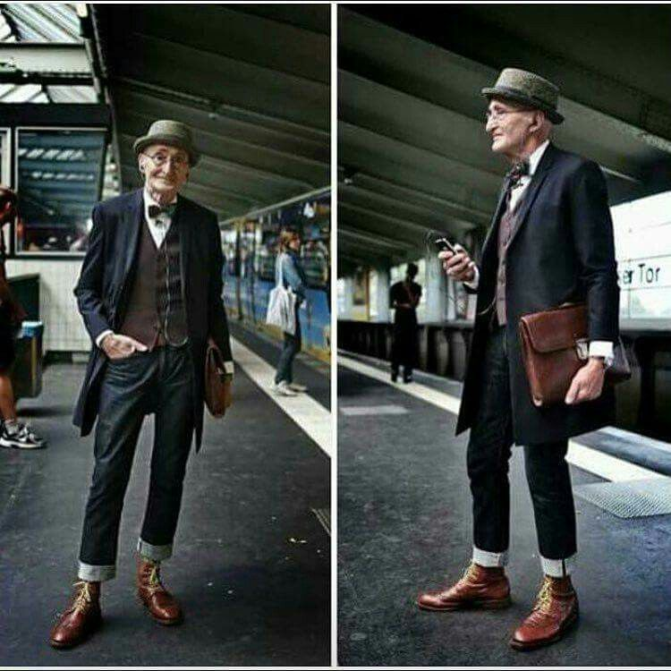 104 Years Old With More Style Than Youths Swagfordays A Gentleman