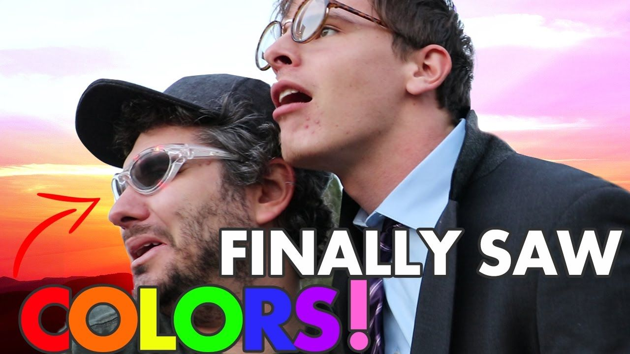 These Glasses Cured Our Color Blindness Ft Idubbbztv H3h3