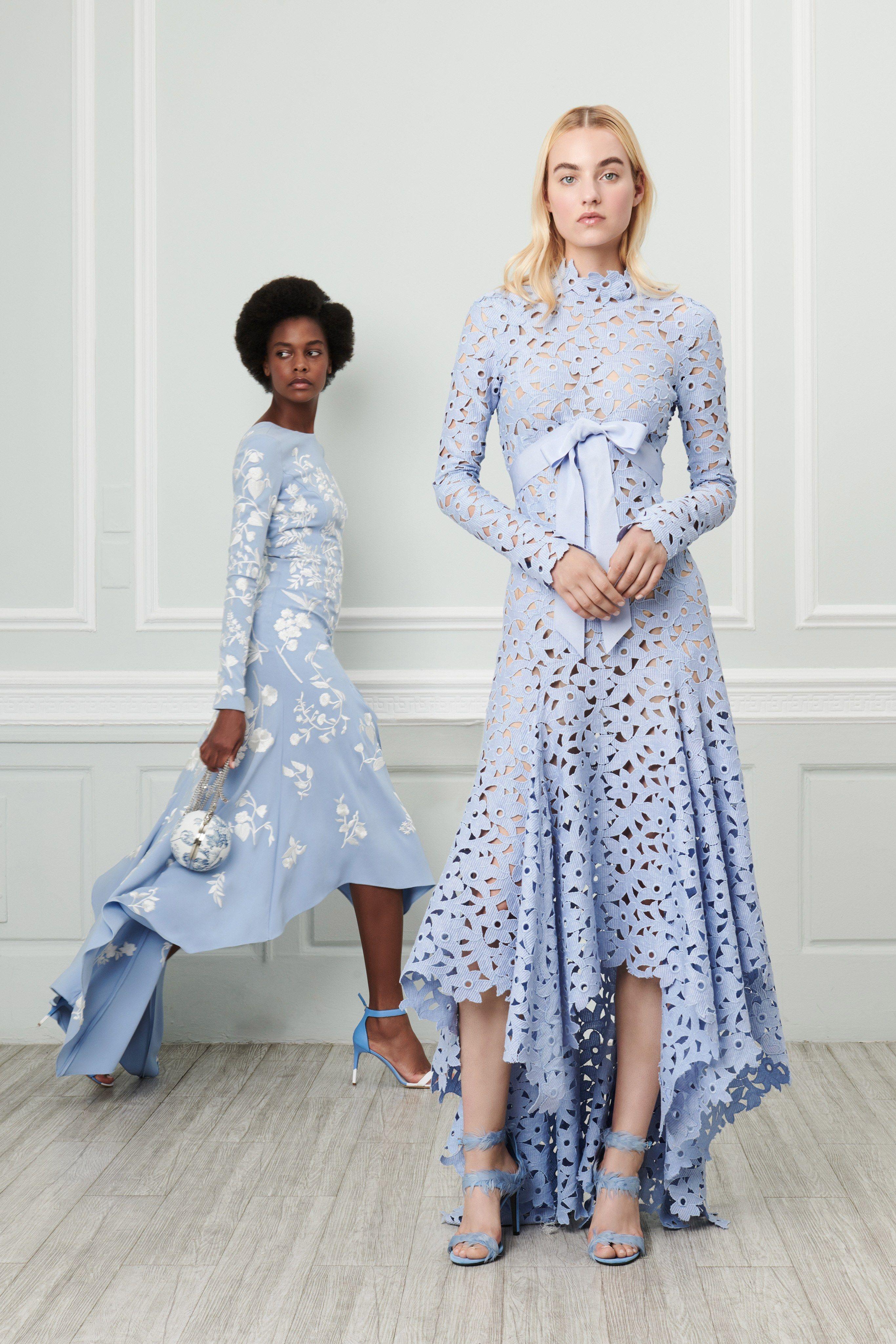 f7a6441ef03764 Oscar de la Renta Resort 2019 New York Collection -  Vogue purveyoroffinefabrics  rexfabrics
