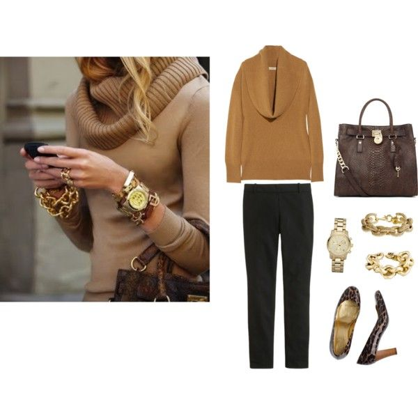 """Camel and Leopard"" by crewcraze on Polyvore"