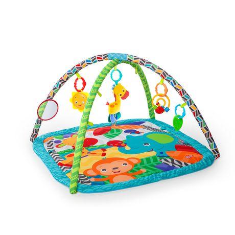 Bright Starts Bright Starts Zippy Zoo Activity Gym Multi Coloured Bright Starts Baby Activity Gym Zoo Activities