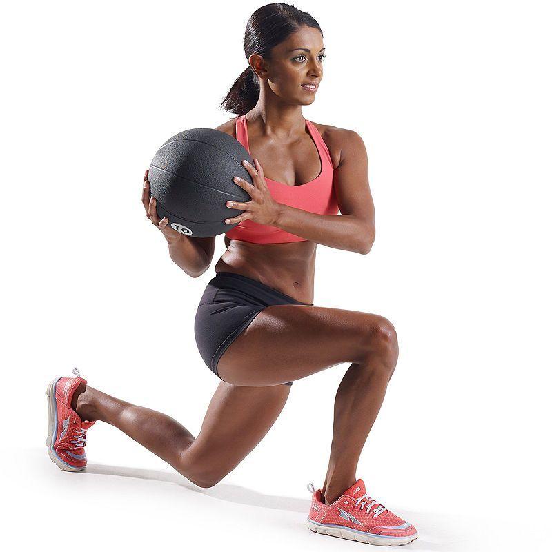 Pro Form 10 Lb Rubber Medicine Ball Losing Weight Pinterest
