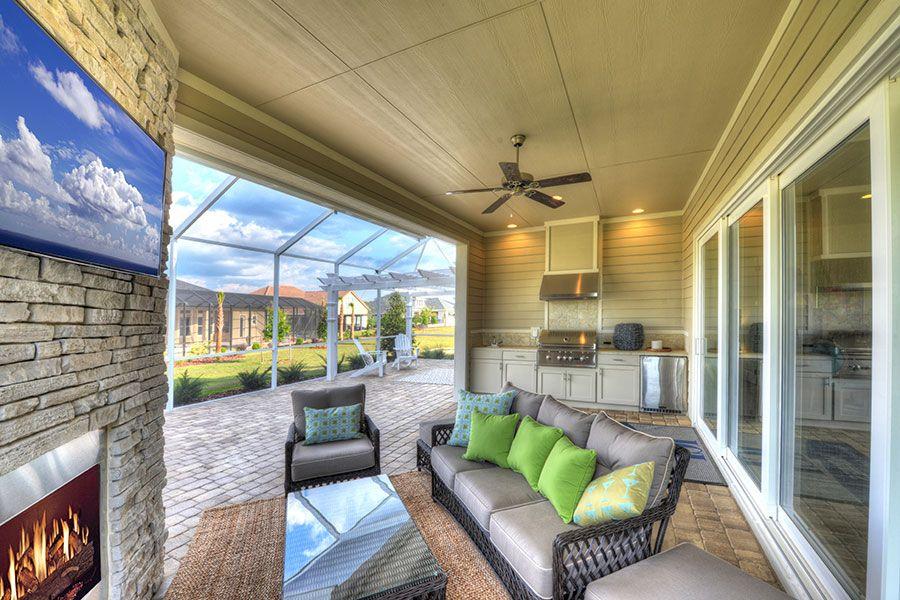 Belaire at Amelia National ICI Homes Custom home