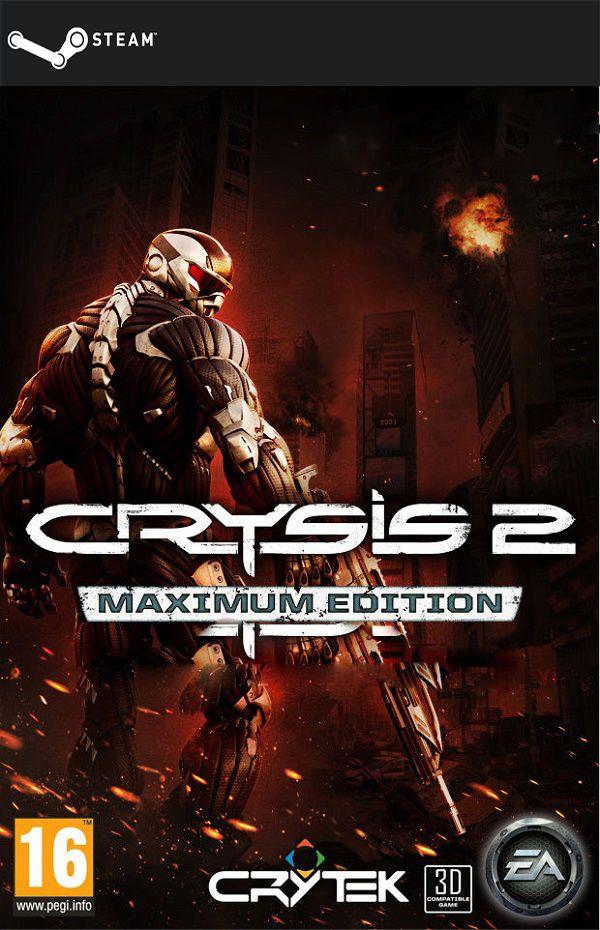 Crysis 2 Maximum Edition Steam Gift Digital Juegos Para Pc Gratis Juegos De Acción Descargar Juegos Para Pc