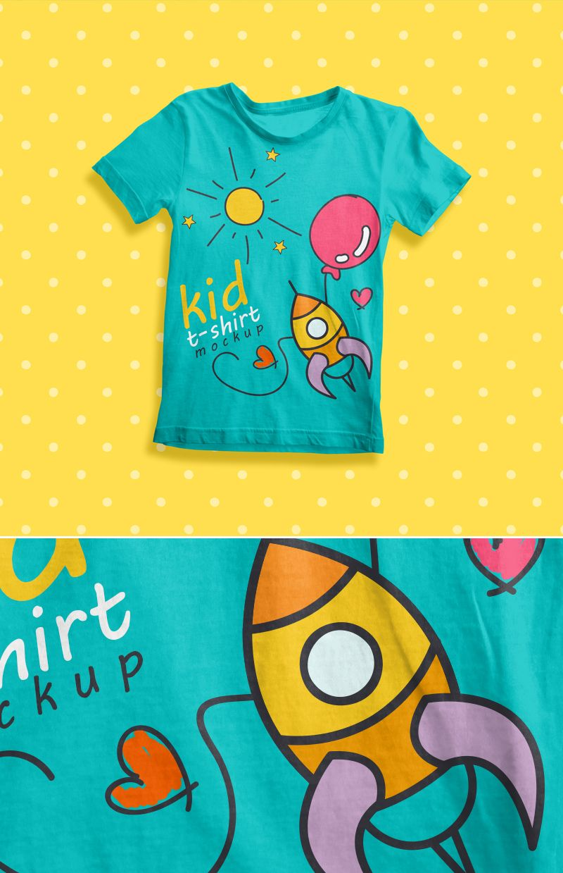 free t shirt mockup psd template | design inspiration | pinterest, Template For Children Clothing Presentation, Presentation templates