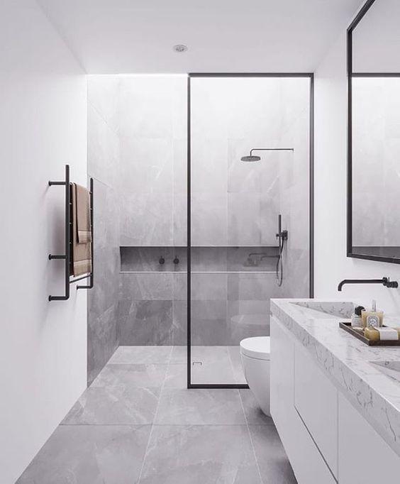 Pinterest Lidia Eszter Minimalism Interior Bathroom Interior Design Bathroom Interior