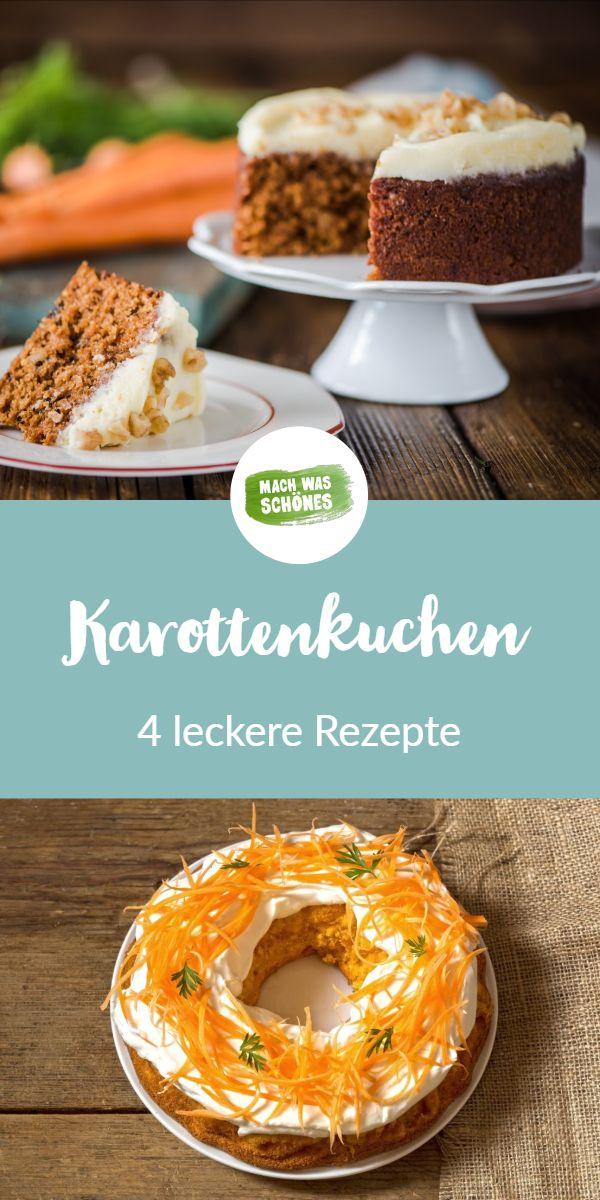 Karottenkuchen-Rezepte: 4 Varianten