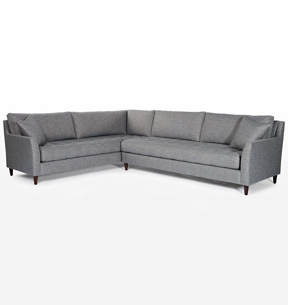 Hastings Sectional Sofa Right Arm Leather Sectional Sofas