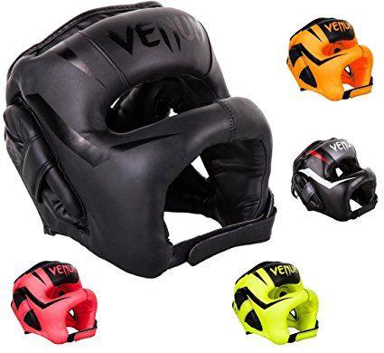9a00359e72 Venum MMA Head Guard Boxing Kick Boxing Muay Thai Head Guard Elite Iron,  Neo Orange. Boxing headgear. It's an Amazon affiliate link.