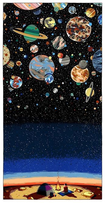 Asthetic Wallpaper - Antariksa �💫