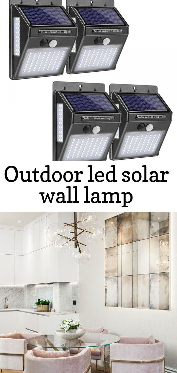 Outdoor LED Solar Wall Lamp Price  1198  FREE Shipping