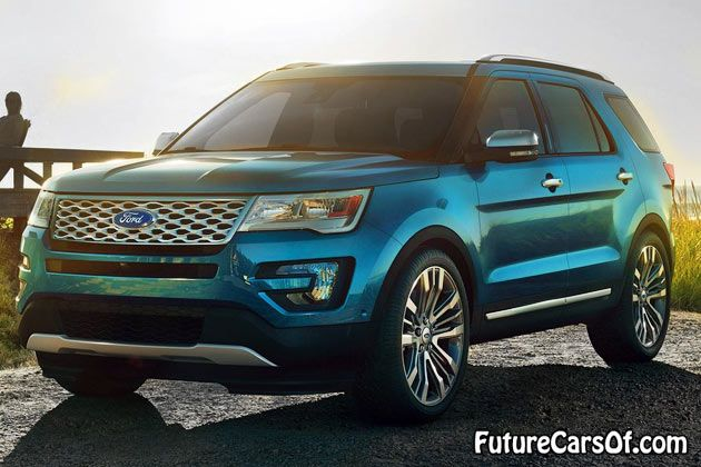 2016 Ford Explorer Front View If This Is Really A Little